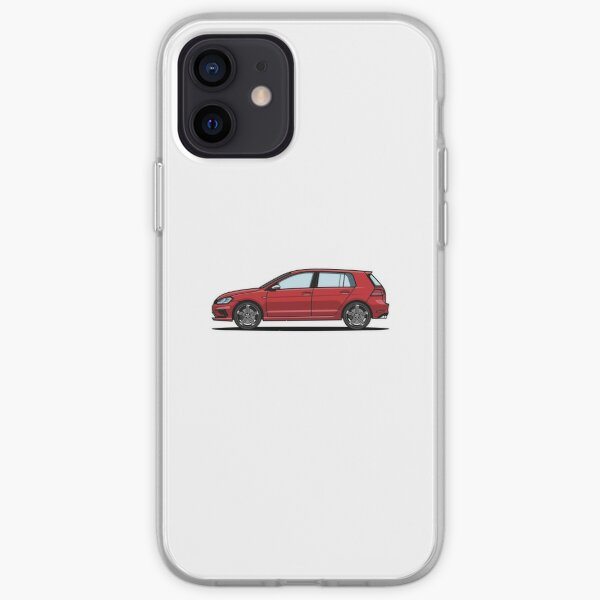 Golf R Rouge Coque souple iPhone