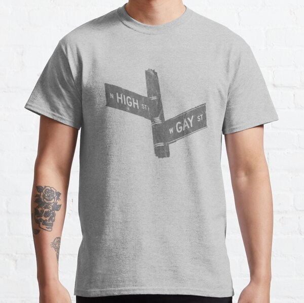 High St and Gay St Signs Vintage Classic T-Shirt