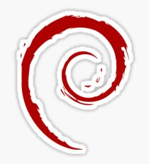 Debian sticker Sticker