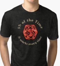 5 Percenter Tri-blend T-Shirt