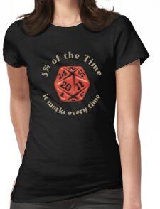 D&D Tee - 5 Percenter Womens Fitted T-Shirt