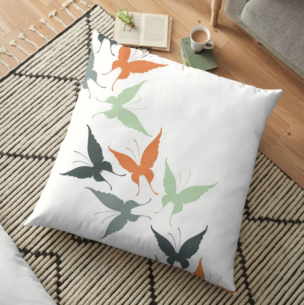 Butterfly Dreams Floor Pillow