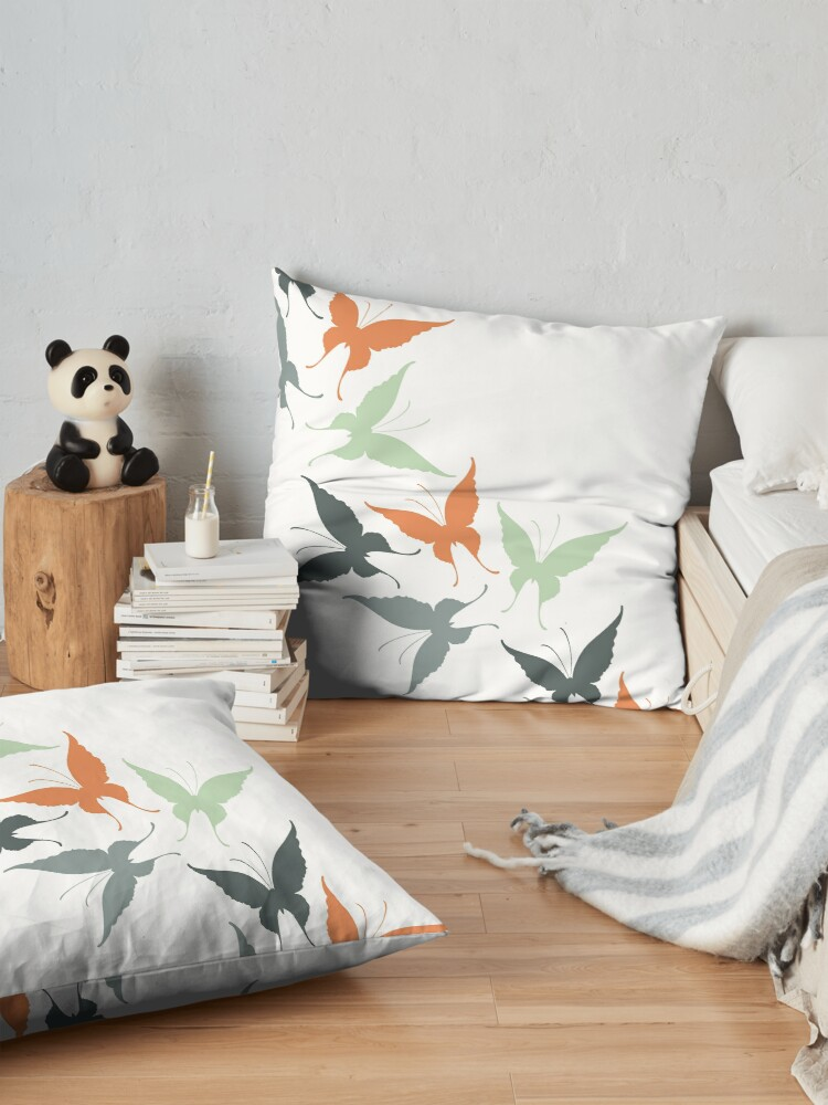 Alternate view of Butterfly Dreams Floor Pillow