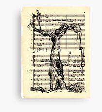 Handel Water Music Tree #2 Canvas Print