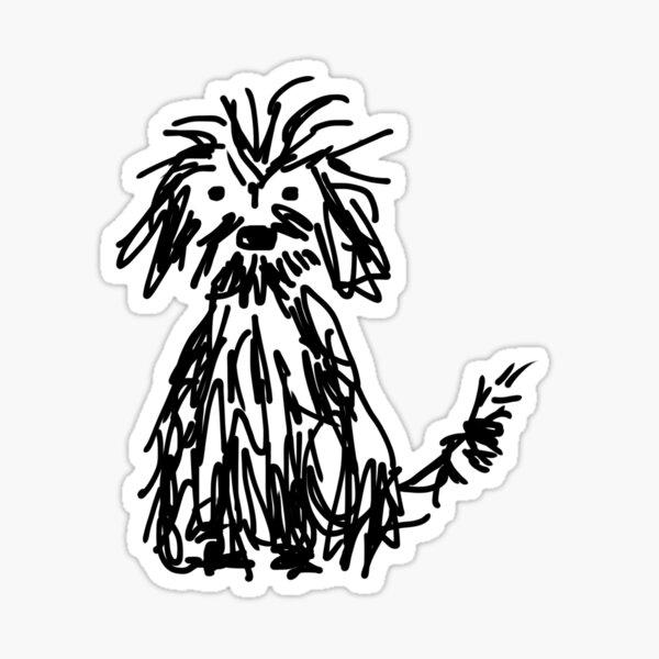 Dog days Sticker