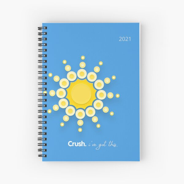 Crusher. You've got this. Spiral Notebook