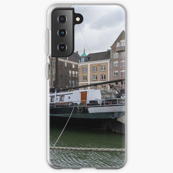 Historic Harbour of Dordrecht Samsung Galaxy Soft Case