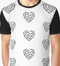 Sprocket Head, Chain Heart Graphic T-Shirt