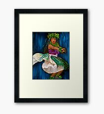 Merrie Monarch Hula Framed Print
