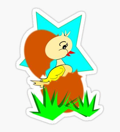 chick (8951 Views) Sticker