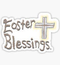 Easter Blessings Sticker