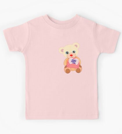Teddy with mother's day message (5817 views) Kids Clothes