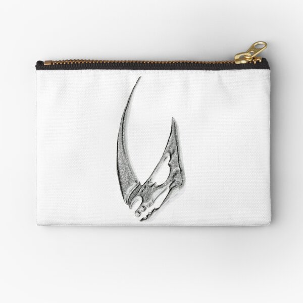 Mudhorn embossed Zipper Pouch