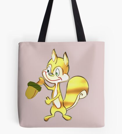 Cheeky Squirrel   (4861 views  ) Tote Bag