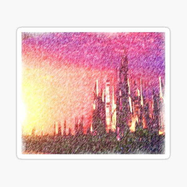 Alteran sunset Sticker