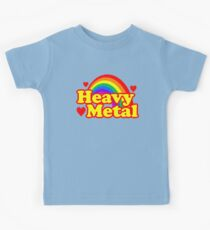 Funny Heavy Metal Rainbow Kids Clothes