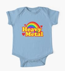 Funny Heavy Metal Rainbow One Piece - Short Sleeve