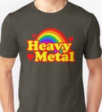Funny Heavy Metal Rainbow T-Shirt