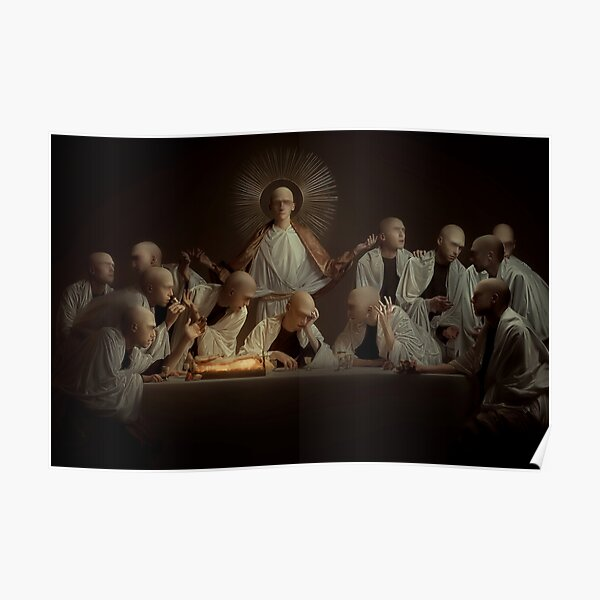 The last social supper Poster