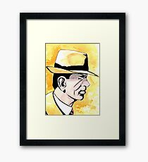 Dick Tracy Framed Print