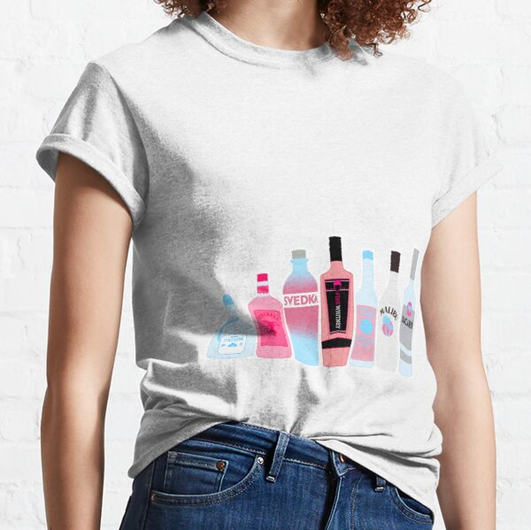 Botellas de alcohol Camiseta clásica