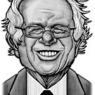 Bernie Caricature by Matt Curtis