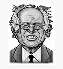Bernie Caricature Photographic Print