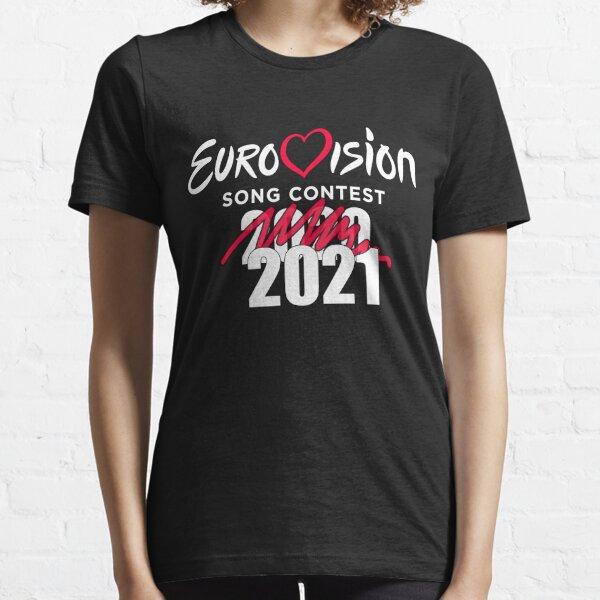 Concurso de la Canción de Eurovisión 2020 cancelado 2021 - funny ESC Camiseta esencial