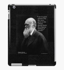 Charles Darwin OOS religious feelings quote 2 iPad Case/Skin