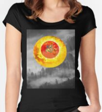 just another landscape Women's Fitted Scoop T-Shirt