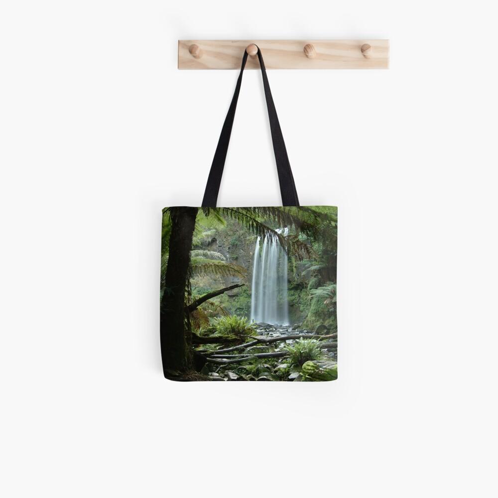 Joe Mortelliti Gallery - Hopetoun Falls, Otways Forest, Victoria, Australia. Tote Bag