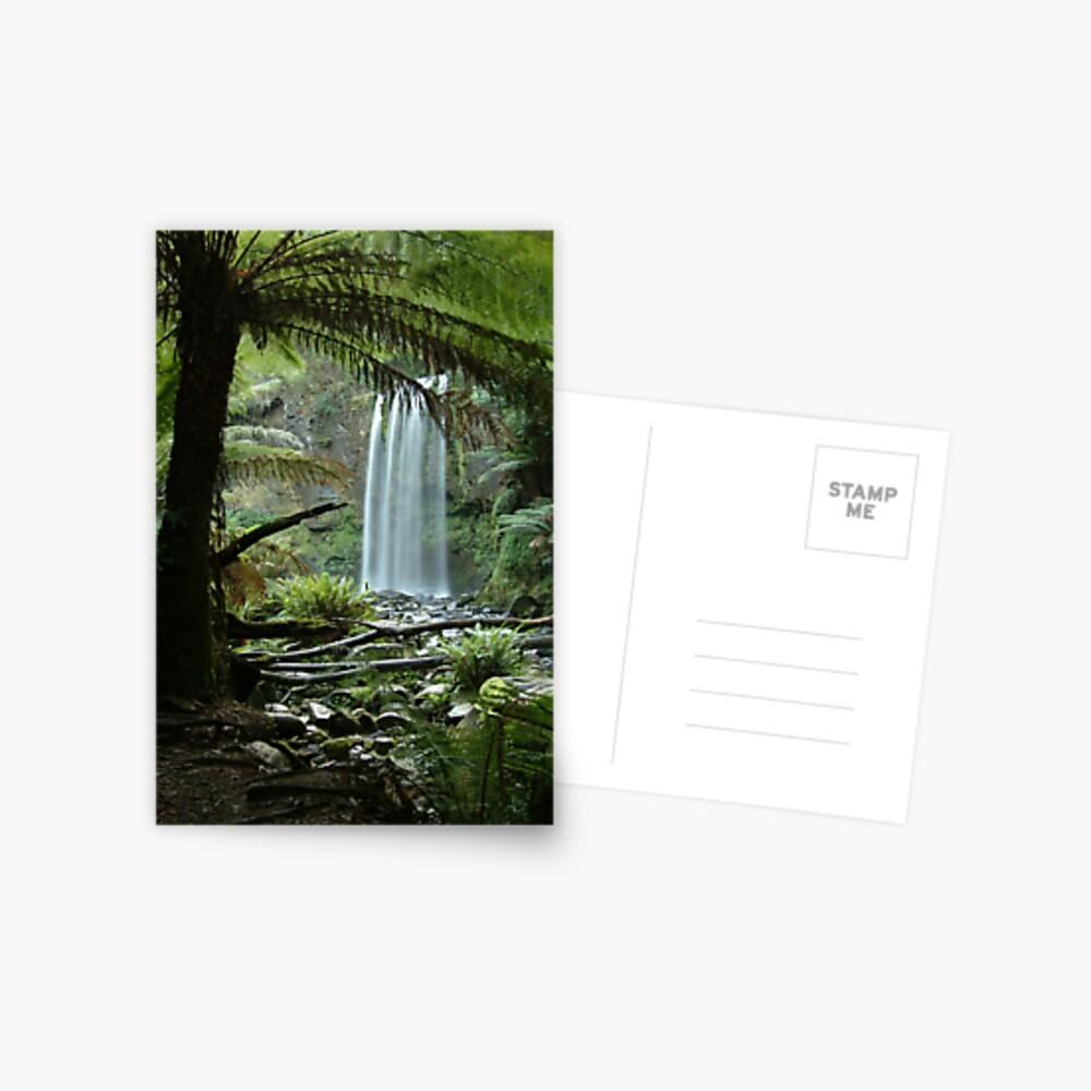 Joe Mortelliti Gallery - Hopetoun Falls, Otways Forest, Victoria, Australia. Postcard