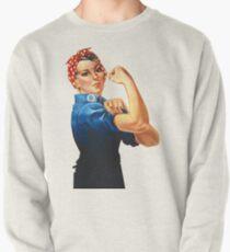 Rosie The Riveter Retro Style design Pullover