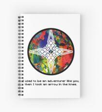 Took an Arrow in the Knee - Dawnstar Version Spiral Notebook