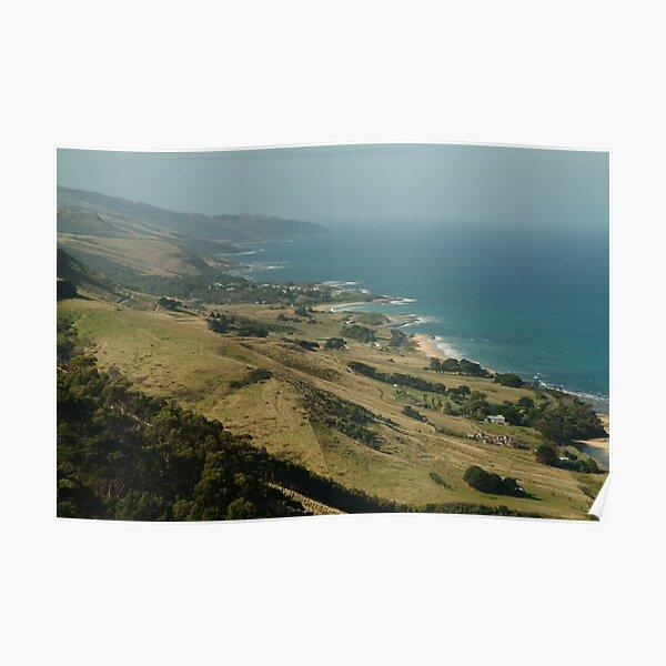 Joe Mortelliti Gallery - Mariners' Lookout, Apollo Bay, Otways National Park, Otways Forest, Victoria, Australia. Poster