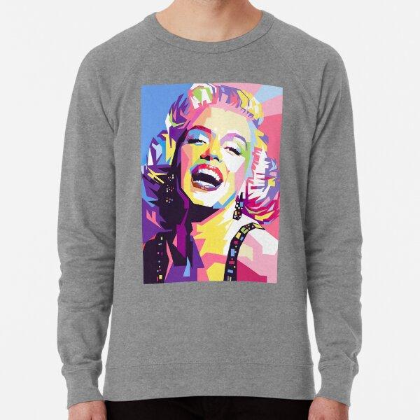 Marilyn Monroe Pop Art Lightweight Sweatshirt