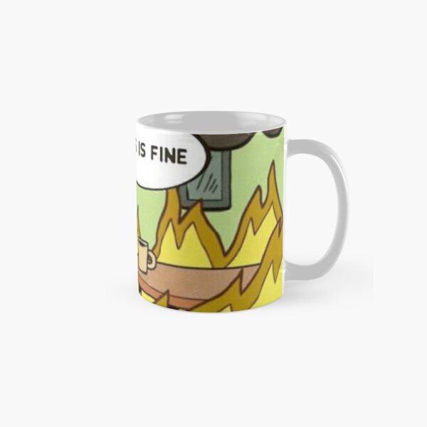 This is Fine Mask Classic Mug