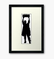 Say Anything- Boombox  Framed Print