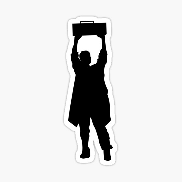Say Anything- Boombox  Sticker