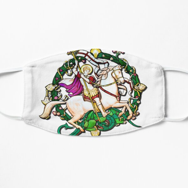 St George and the Dragon Flat Mask