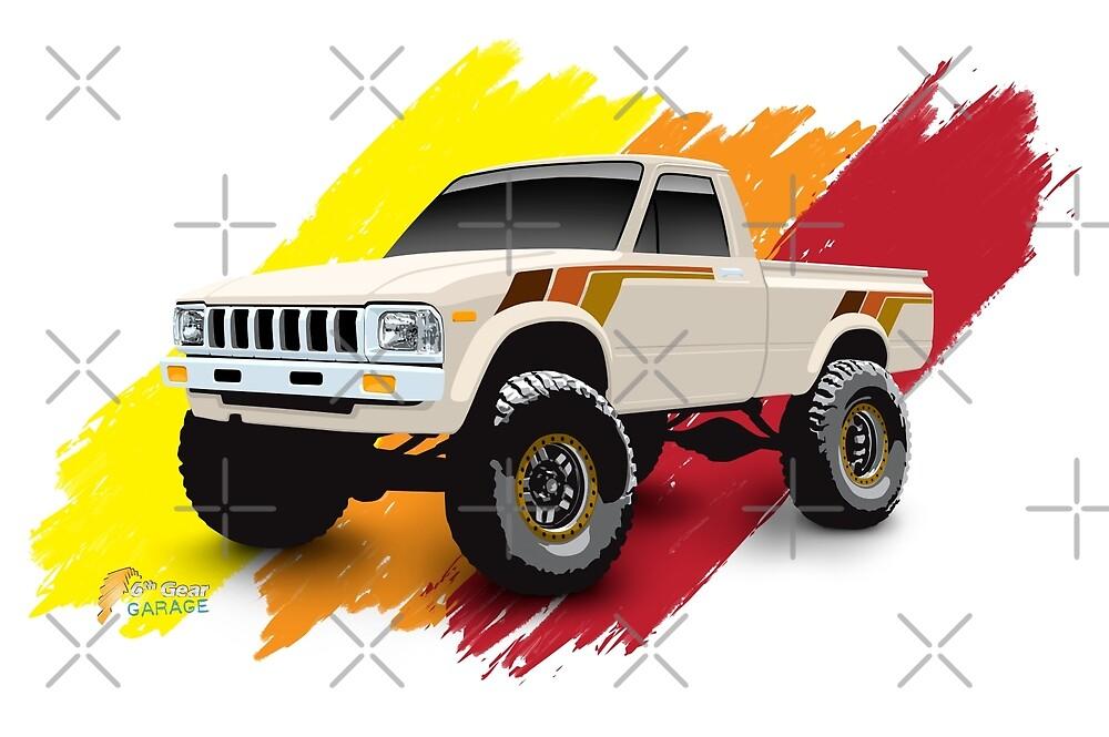 Toyota 1983 4x4 SR5 Hilux Pickup Truck by 6thGear