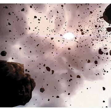 Asteroid Belt by comradesupreme