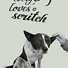 Every dog loves a scritch by Matt Mawson