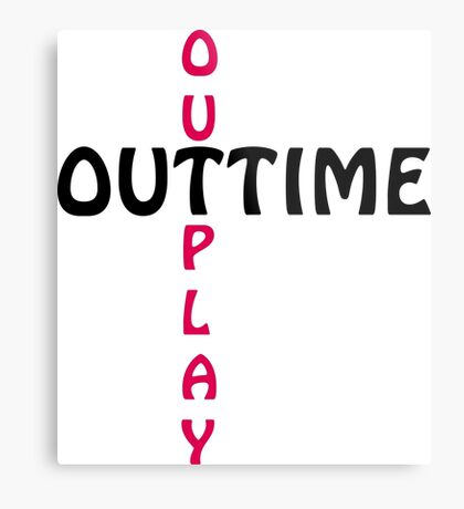 outtime / outplay Metal Print