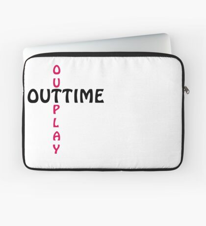 outtime / outplay Laptop Sleeve