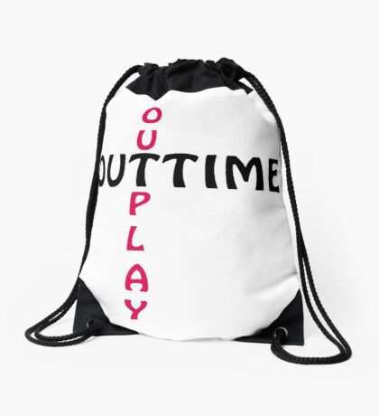 outtime / outplay Drawstring Bag