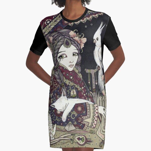 Roma Graphic T-Shirt Dress