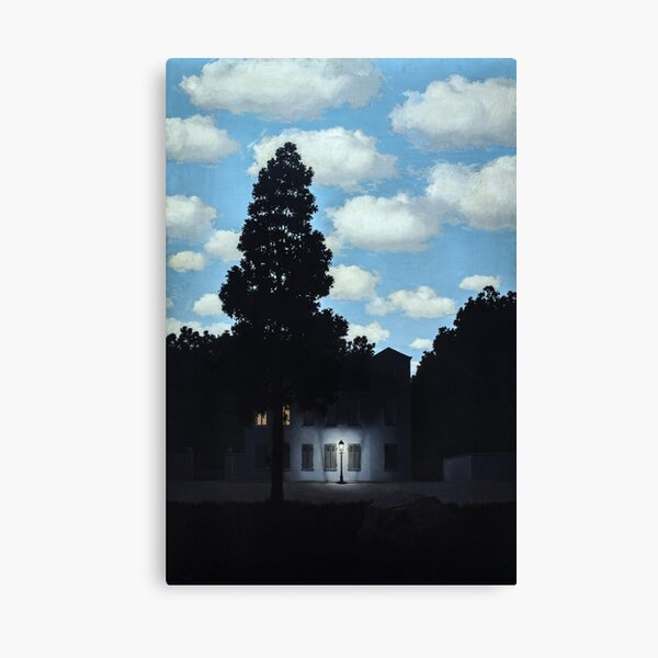The Empire of Light, Magritte (HQ) Canvas Print