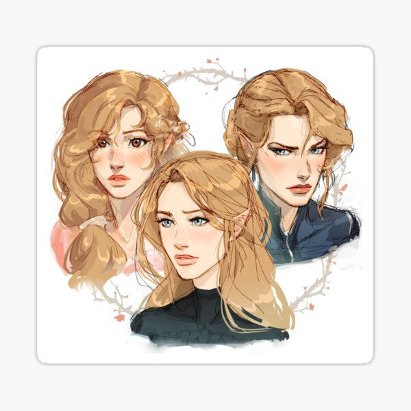 Archeron Sisters - A Court of Thorns and Roses Sticker
