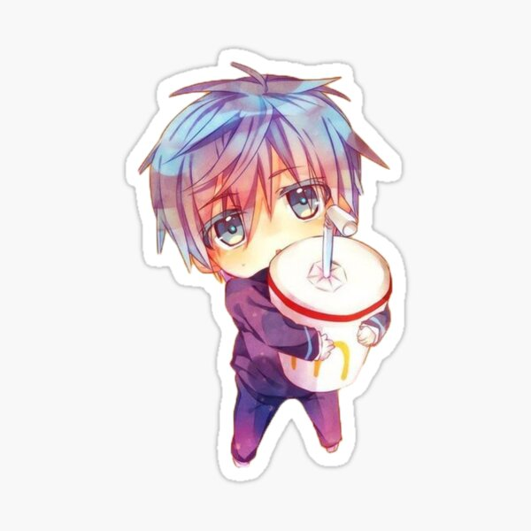 Copie de kuroko no basket Sticker fini brillant